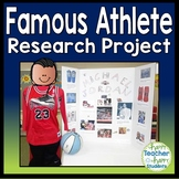 Famous Athlete Research Project: Perfect for Winter Olympics 2018