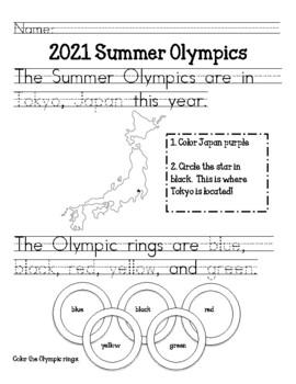 Summer Olympics: Primary
