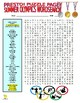 Summer Olympics Puzzle Page (Wordsearch and Criss-Cross)