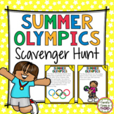 Summer Olympics Scavenger Hunt & Word Search