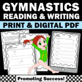 Summer Reading Activities, Gymnastics Summer Olympics Activity