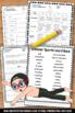 Summer Olympics Activities, Summer Vocabulary Worksheets
