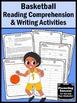 Summer School Reading Activities BASKETBALL Summer Olympics Sports Theme