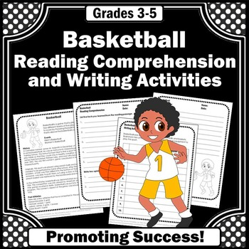 Summer Olympics Sports BASKETBALL Reading Comprehension &