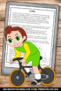 Summer Olympics Sports CYCLING Reading & Writing Activities