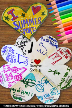 Summer Interactive Notebook, Summer Sports Themed Classroom, Olympics