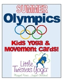 Summer Olympics/Summer Sports Kids Yoga Sequence. Real Pho