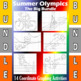 Summer Olympics - The Big Bundle - 8 Coordinate Graphing Activities