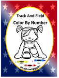 Math Sports Coloring Pages, Pre K Kindergarten Color by Number Worksheets