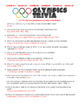 Summer Olympics Trivia