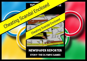 Rio Olympics Olympics Summer 2016 Two Writing Scenarios and Bingo Game Bundle