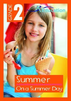 Summer - On a Summer Day - Grade 2