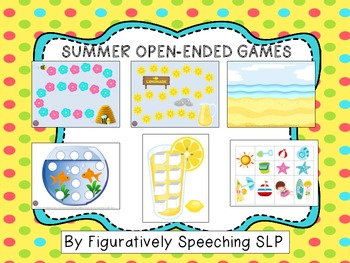 Summer Open-Ended Games