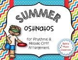 Summer Ostinatos - Rhythmic and Melodic Summer Composition