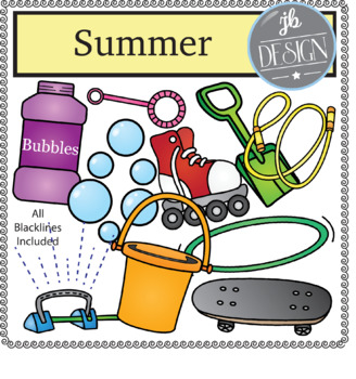 Summer Pack (JB Design Clip Art for Personal or Commercial Use)