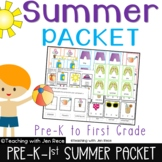 Summer Activities: Pre-K to First Grade