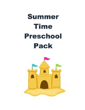 Summer Pack for Preschoolers
