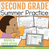 Summer Packet Second Grade with Google Classroom Distance Learning