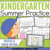 Summer Packet Kindergarten with Google Classroom Distance Learning