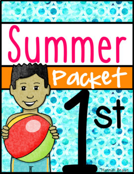 Summer Review  Packet of Activities for 1st Grade