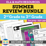 Summer Packet • 2nd Grade Spiral Review Activities (Distan