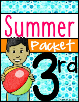 Summer Review Packet of Activities for 3rd Grade