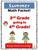 3rd going to 4th Math Summer Packet