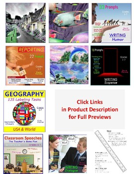 Back to School Bundle | 600 Printables | All Subjects (Gr. 3-7)