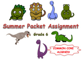 Summer Packet Assignment 6th Grade Math