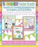 Summer Packet Bundle for Incoming Kindergartners, 1st Grad