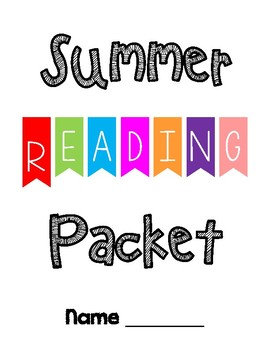 Summer Packet Cover Pages