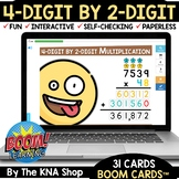 Summer Packet Distance Learning | 4-Digit by 2-Digit Multi