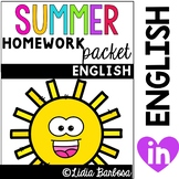 Summer Packet- English