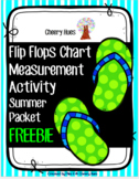 Summer Packet - FLIP FLOPS Measurement Activity Freebie