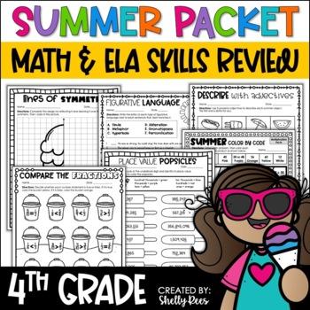 Summer Packet Fourth Grade