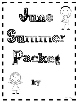 Summer Packet Fun (Month by Month)