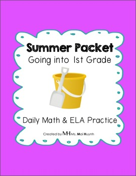 Summer Review Packet - Going into 1st Grade
