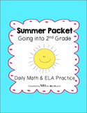 Summer Packet - Going into 2nd Grade