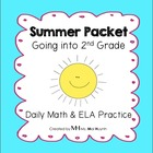 Summer Packet - Going into 2nd Grade