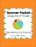 Summer Review Packet - Going into 3rd Grade