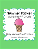 Summer Packet - Going into 4th Grade
