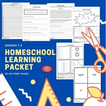 Summer Packet - Incoming 2nd Graders