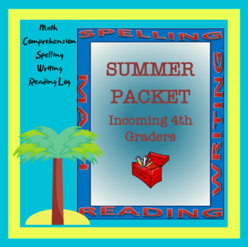 Summer Packet - Incoming 4th Graders