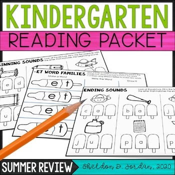 Summer Packet - Kindergarten Reading Review