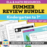 Summer Packet • Kindergarten Spiral Review Activities (Dis