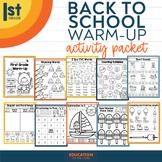 Summer Packet NO PREP Review for Kindergarten