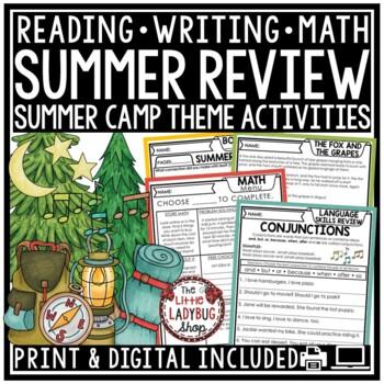 Summer Packet- 3rd Grade  [Reading, Writing, & Grammar]