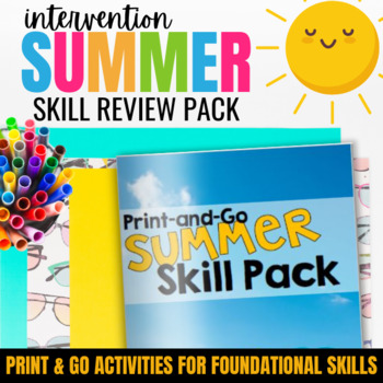Summer Packet {Skill Review & Practice for Grades 3-5}