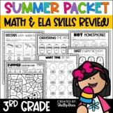 Summer Packet Third Grade