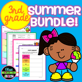 Third Grade Summer Review Practice Bundle